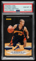 Stephen Curry Signed 2009-10 Panini #307 RC (PSA Encapsulated) at PristineAuction.com