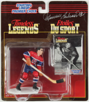 "Maurice Richard Signed Canadiens 1995 Starting Lineup ""Timeless Legends"" Figurine with Card (Beckett Hologram) (See Description) at PristineAuction.com"