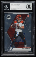 Joe Burrow Signed 2020 Panini Mosaic #201 RC (BGS Encapsulated) at PristineAuction.com