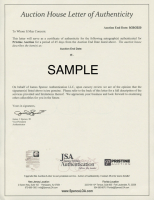 Benjamin Harrison Signed 15x22 Custom Framed Personal Bank Check Display (JSA ALOA) at PristineAuction.com