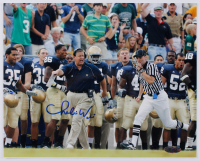 Charlie Weis Signed Notre Dame Fighting Irish 8x10 Photo (Steiner Hologram) at PristineAuction.com