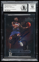 Tracy McGrady Signed 1997-98 Metal Universe Championship #36 RC (BGS Encapsulated) at PristineAuction.com