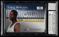 Tracy McGrady Signed 2000-01 Fleer Mystique #13 (BGS Encapsulated) at PristineAuction.com