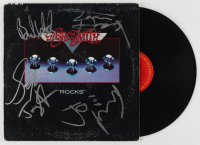 "Aerosmith ""Rocks"" Vinyl Record Album Signed by (5) with Steven Tyler, Tom Hamilton, Joey Kramer, Joe Perry (JSA LOA) at PristineAuction.com"