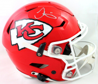 Tyreek Hill Signed Chiefs Full-Size Authentic On-Field SpeedFlex Helmet (JSA COA) at PristineAuction.com