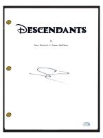 """Sofia Carson Signed """"Descendants"""" Movie Script (AutographCOA COA) at PristineAuction.com"""