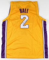 Lonzo Ball Signed Jersey (Beckett COA) at PristineAuction.com