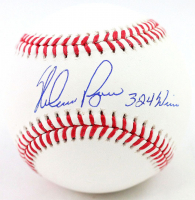 "Nolan Ryan Signed OML Baseball Inscribed ""324 Wins"" (AIV COA & Ryan Hologram) at PristineAuction.com"