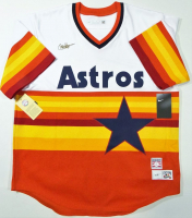 Nolan Ryan Signed Astros Jersey with (3) Inscriptions (AIV COA & Ryan Hologram) at PristineAuction.com