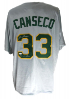 """Jose Canseco Signed Jersey Inscribed """"2x WS Champs"""" (JSA COA) at PristineAuction.com"""