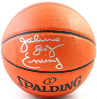 "Julius ""Dr. J"" Erving Signed NBA Basketball (Beckett COA) at PristineAuction.com"