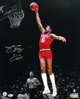 "Julius ""Dr. J"" Erving Signed 76ers 16x20 Photo (Beckett COA) at PristineAuction.com"