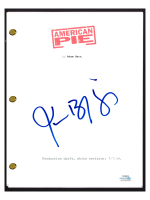 "Jason Biggs Signed ""American Pie"" Movie Script (AutographCOA COA) at PristineAuction.com"