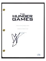 """Josh Hutcherson Signed """"The Hunger Games"""" Movie Script (AutographCOA COA) at PristineAuction.com"""