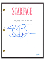 "Steven Bauer Signed ""Scarface"" Movie Script (AutographCOA COA) at PristineAuction.com"