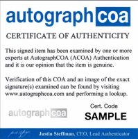 "Steven Bauer Signed ""Scarface"" Movie Script (AutographCOA COA) at PristineAuction.com"