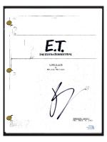 "Drew Barrymore Signed ""E.T. the Extra-Terrestrial"" Movie Script (AutographCOA COA) at PristineAuction.com"