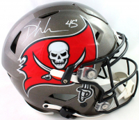 Devin White Signed Buccaneers Full-Size Authentic On-Field SpeedFlex Helmet (Beckett COA) at PristineAuction.com