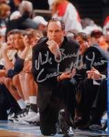 "Mike Brey Signed Notre Dame Fighting Irish 8x10 Photo Inscribed ""Coach of the Year"" (Steiner Hologram) at PristineAuction.com"