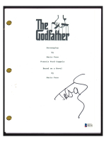 "Talia Shire Signed ""The Godfather"" Movie Script (Beckett COA) at PristineAuction.com"