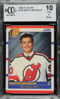 Martin Brodeur 1990-91 Score Canadian #439 RC (BCCG 10) at PristineAuction.com