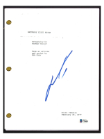 "John Travolta Signed ""Saturday Night Fever"" Movie Script (Beckett COA) at PristineAuction.com"