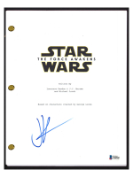"""J. J. Abrams Signed """"Star Wars The Force Awakens"""" Movie Script (Beckett COA) at PristineAuction.com"""