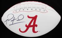 Tua Tagovailoa Signed Alabama Crimson Tide Logo Football (Beckett COA) at PristineAuction.com