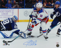J. T. Miller Signed Rangers 16x20 Photo (Steiner Hologram & Fanatics Hologram) at PristineAuction.com