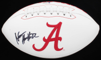 Najee Harris Signed Alabama Crimson Tide Logo Football (Beckett COA) at PristineAuction.com
