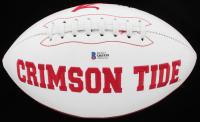 Najee Harris Signed Alabama Crimson Tide Logo Football (Beckett COA) at PristineAuction.com