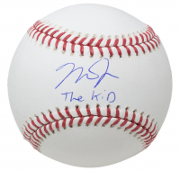 "Mike Trout Signed OML Baseball Inscribed ""The Kid"" (MLB Hologram) at PristineAuction.com"