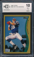 Peyton Manning 1998 Topps #360 RC (BCCG 10) at PristineAuction.com