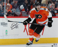 Dale Weise Signed Flyers 16x20 Photo (Fanatics Hologram) at PristineAuction.com