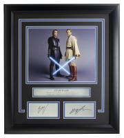 "Hayden Christensen & Ewan McGregor ""Star Wars: Revenge of the Sith"" 16x20 Custom Framed Photo Display at PristineAuction.com"