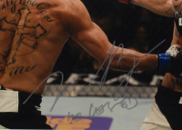 """Max """"Blessed"""" Holloway Signed UFC 11x14 Custom Framed Photo Display (Beckett COA) at PristineAuction.com"""