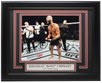 "Khamzat ""Borz"" Chimaev Signed UFC 11x14 Custom Framed Photo Display (JSA Hologram) at PristineAuction.com"