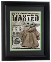 "Baby Yoda ""The Mandalorian"" 11x14 Custom Framed Photo Display at PristineAuction.com"