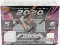 2020 Panini Prizm Draft Picks Baseball Blaster Box with (6) Packs at PristineAuction.com