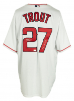 "Mike Trout Signed Angels Majestic Jersey Inscribed ""The Kiiiiid"" (MLB Hologram) at PristineAuction.com"