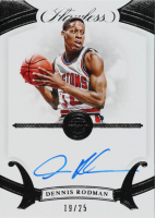 Dennis Rodman 2019-20 Panini Flawless Flawless Autographs #43 at PristineAuction.com