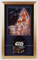 """Star Wars"" 15x25 Custom Framed Foreign Print Display with Original 1977 8mm Movie Film including the Original Box at PristineAuction.com"