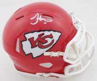 Tyreek Hill Signed Chiefs Speed Mini Helmet (JSA COA) at PristineAuction.com