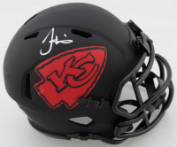Tyreek Hill Signed Chiefs Eclipse Alternate Speed Mini Helmet (JSA COA) at PristineAuction.com