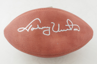 Johnny Unitas Signed NFL Football (Beckett LOA) at PristineAuction.com