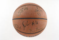 2006-07 Spurs Basketball Team-Signed by (13) with Tim Duncan, Manu Ginobili, Tony Parker, Michael Finley (Beckett LOA) at PristineAuction.com