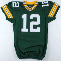Aaron Rodgers Packers Game-Worn Jersey (See Description) at PristineAuction.com