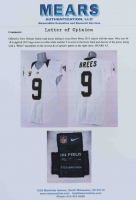 Drew Brees Saints Game-Worn Jersey (Mears LOO) (See Description) at PristineAuction.com