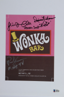 """Julie Dawn Cole, Denise Nickerson & Paris Themmen Signed """"Willy Wonka & the Chocolate Factory"""" 9x13 Print Inscribed """"Veruca Salt"""" """"Mike TV"""" & """"Violet"""" (Beckett LOA) at PristineAuction.com"""