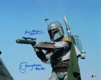 "Jeremy Bulloch & Jason Wingreen Signed ""Star Wars"" 11x14 Photo Inscribed ""Boba Fett"" & ""Boba's Voice"" (Beckett COA) at PristineAuction.com"